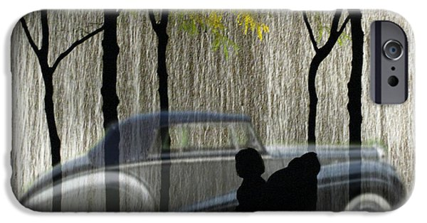 Carnegie Museum iPhone Cases - The Bently The People The Waterfall iPhone Case by David Jordan