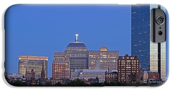 Charles River iPhone Cases - The Berkeley Building iPhone Case by Juergen Roth