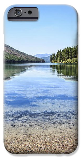 The Best Beach in Glacier National Park iPhone Case by Scotts Scapes
