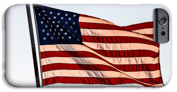Betsy Ross iPhone Cases - The Best Of Old Glory iPhone Case by Robert Bales