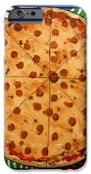 The Big Ass New York Pizza iPhone Case by Anthony Falbo