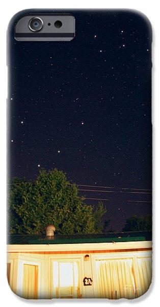 Ursa Minor iPhone Cases - The Big Dipper & Little Dipper iPhone Case by John Chumack