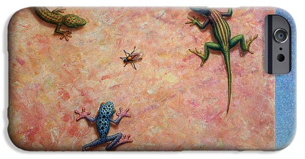 Predators iPhone Cases - The Big Fly iPhone Case by James W Johnson