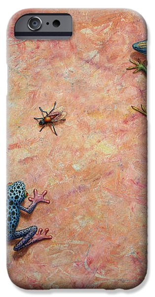 The Big Fly iPhone Case by James W Johnson