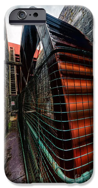 Recently Sold -  - Buildings iPhone Cases - The Big Wheel iPhone Case by Adrian Evans