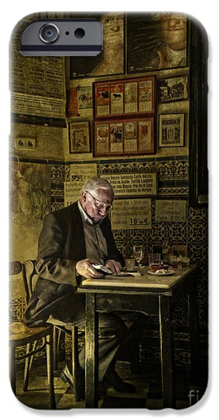 Interior Still Life iPhone Cases - The Bill iPhone Case by Heiko Koehrer-Wagner