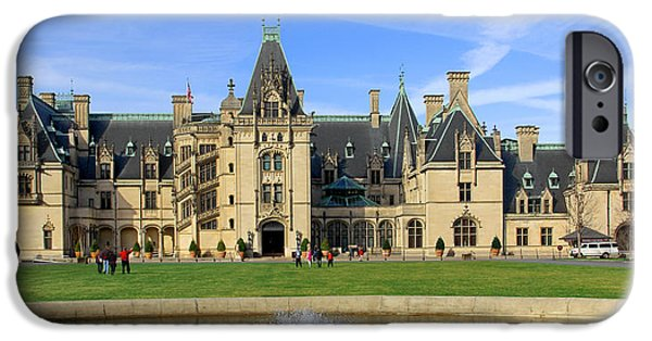 Mansion iPhone Cases - The Biltmore Estate - Asheville North Carolina iPhone Case by Mike McGlothlen
