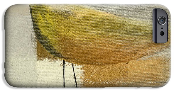 Beige iPhone Cases - The Bird - j100124164-c23a iPhone Case by Variance Collections
