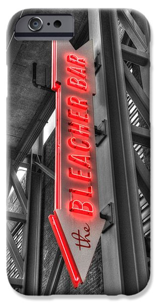 Fenway Park iPhone Cases - The Bleacher Bar iPhone Case by Joann Vitali