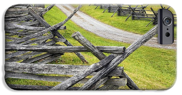 Impressions Of Light iPhone Cases - The Bloody Lane at Antietam iPhone Case by Paul W Faust -  Impressions of Light