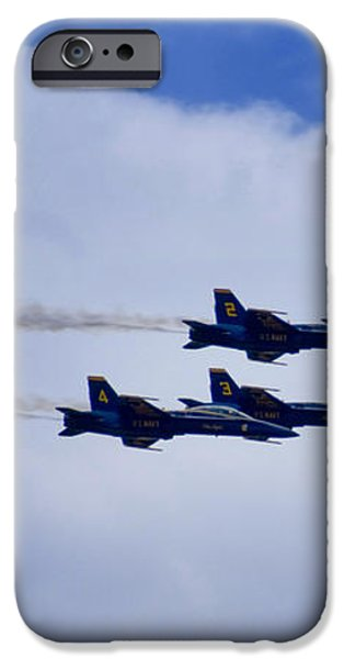 The Blue Angels iPhone Case by Benjamin Reed