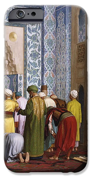 The Blue Mosque iPhone Case by Jean Leon Gerome