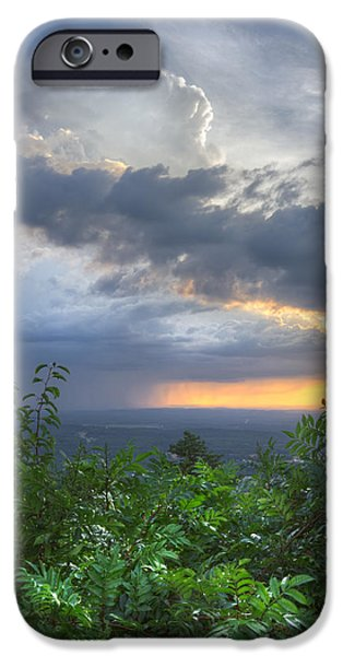 The Blue Ridge Mountains iPhone Case by Debra and Dave Vanderlaan
