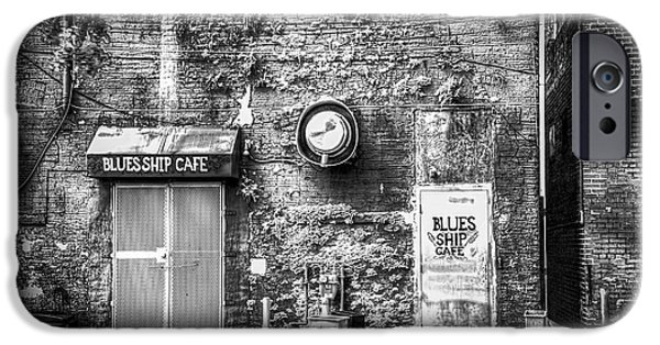 Alga Photographs iPhone Cases - The Blues Ship Cafe iPhone Case by Marvin Spates