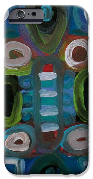 Business Paintings iPhone Cases - The Boardroom iPhone Case by Jeff Gater