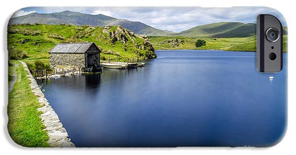 Reservoir iPhone Cases - The Boathouse iPhone Case by Adrian Evans