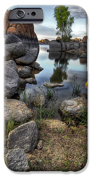Prescott Arizona iPhone Cases - The Bobber iPhone Case by Sean Foster