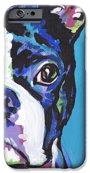 Recently Sold -  - Puppies iPhone Cases - The Boss iPhone Case by Lea
