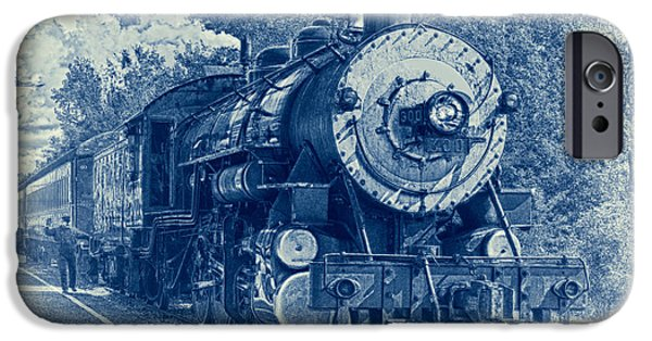 Caboose Photographs iPhone Cases - The Brakeman - Vintage iPhone Case by Robert Frederick