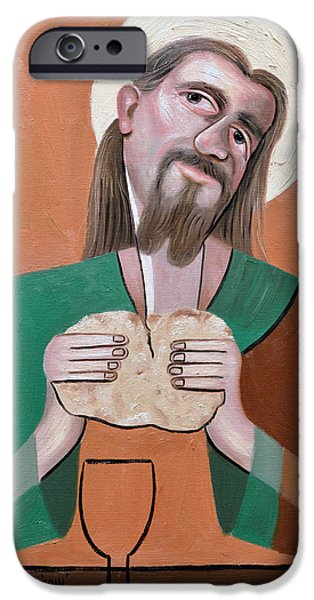 The Bread Of Life iPhone Case by Anthony Falbo