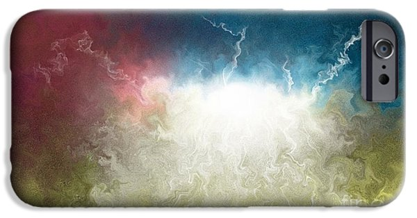 Sun Breaking Through Clouds iPhone Cases - The Breakthrough iPhone Case by Shane Weiss