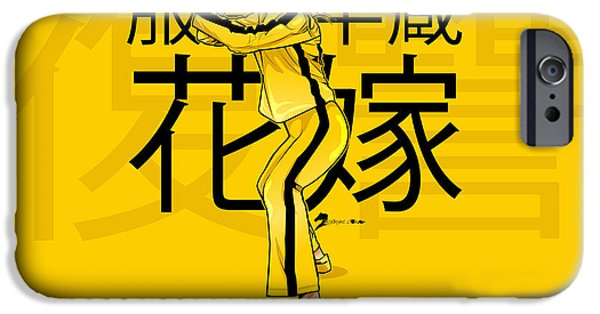 Kill Bill iPhone Cases - The Bride From Kill Bill iPhone Case by Akyanyme