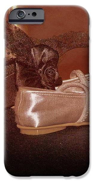 The Bridesmaid's Shoes iPhone Case by Terri  Waters