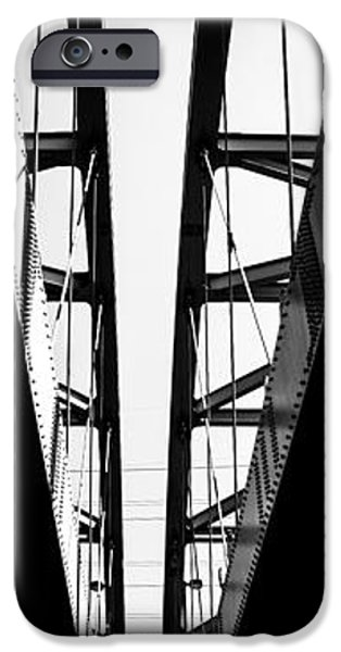 Symetry iPhone Cases - The Bridge iPhone Case by Andrew Kubica