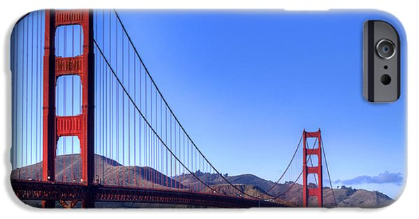 Bill Gallagher Photographs iPhone Cases - The Bridge iPhone Case by Bill Gallagher