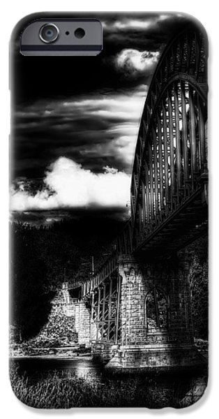 Norway iPhone Cases - The Bridge iPhone Case by Erik Brede