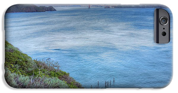 Sausalito iPhone Cases - The Bridge iPhone Case by JC Findley