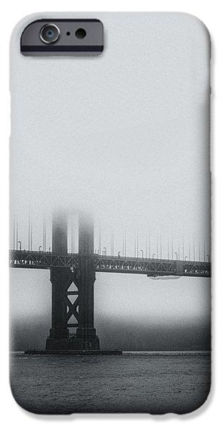 Bay Bridge iPhone Cases - The Bridge iPhone Case by Joseph Smith