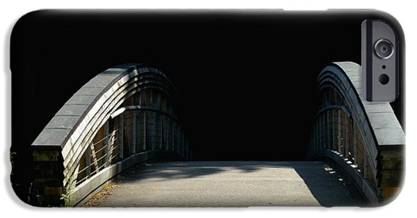 Michelle iPhone Cases - The Bridge To Nowhere iPhone Case by Michelle Meenawong
