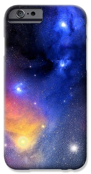 Stargazing iPhone Cases - The Bright Star Antares iPhone Case by Jason T Ware