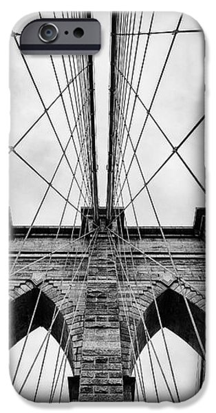 The Brooklyn Bridge iPhone Case by John Farnan