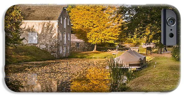 Historic Site iPhone Cases - The Canal Explorer iPhone Case by Eduard Moldoveanu