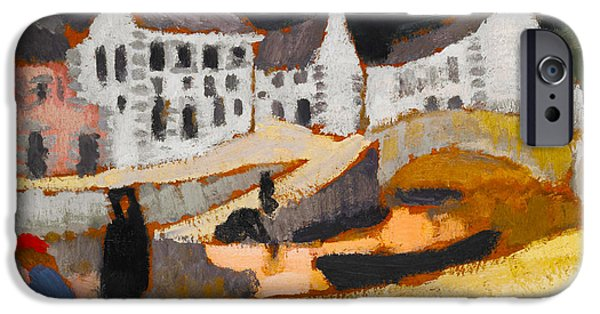 Briton iPhone Cases - The Canal iPhone Case by Roger de La Fresnaye
