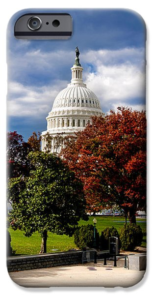 Recently Sold -  - Smithsonian iPhone Cases - The Capitol iPhone Case by Greg Fortier