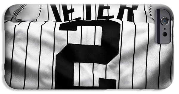Jeter iPhone Cases - The Captain iPhone Case by John Rizzuto