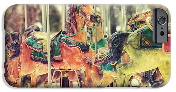 Carousel iPhone Cases - The Carousel iPhone Case by Carrie Ann Grippo-Pike