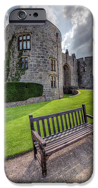 Stately iPhone Cases - The Castle Bench iPhone Case by Adrian Evans