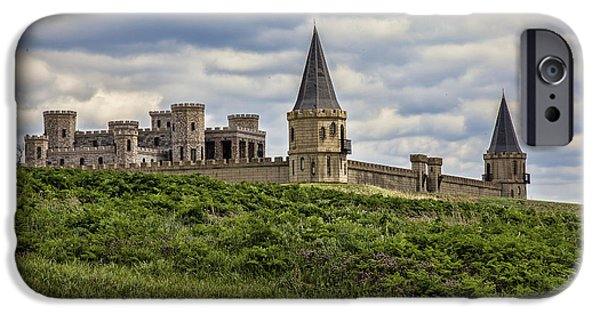 Meadow Photographs iPhone Cases - The Castle - Versailles KY iPhone Case by Jack R Perry