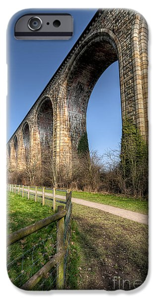 Nineteen iPhone Cases - The Cefn Mawr Viaduct iPhone Case by Adrian Evans