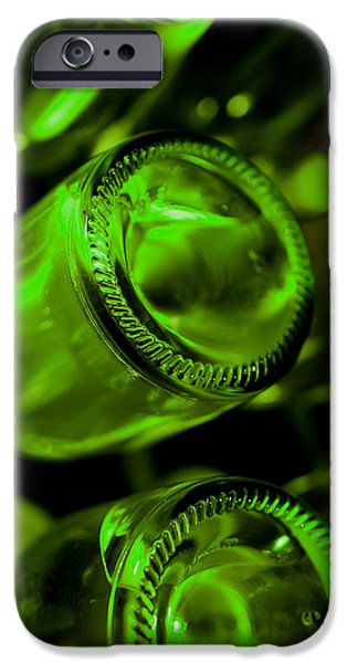 Wine Vault iPhone Cases - The cellar iPhone Case by Gina Dsgn