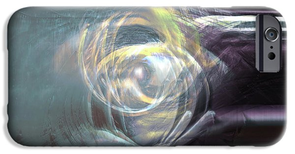 Energy Art Movement iPhone Cases - The Chamber iPhone Case by Linda Sannuti