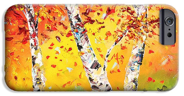 Paintings iPhone Cases - The Change iPhone Case by Meaghan Troup