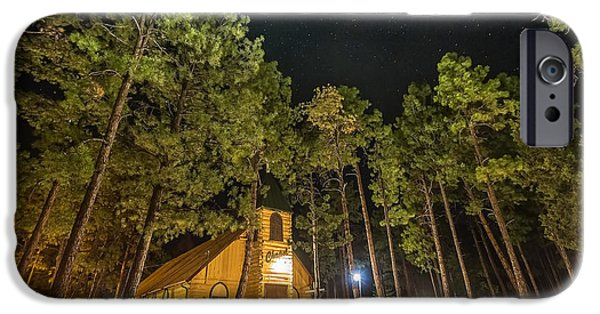 Prescott iPhone Cases - The Chapel iPhone Case by Gerry Groeber