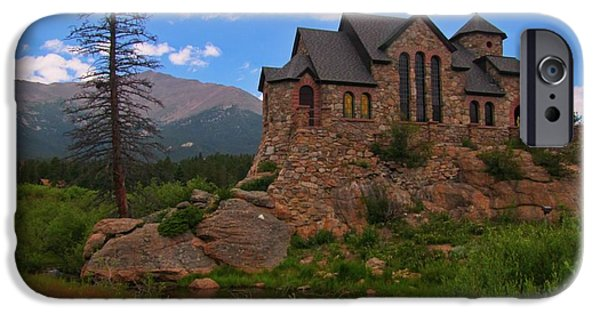 Chapel On The Rock iPhone Cases - The Chapel on the Rock iPhone Case by John Malone