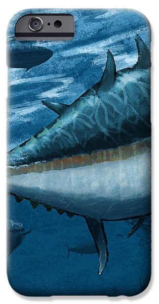 The Chase iPhone Case by Kevin Putman