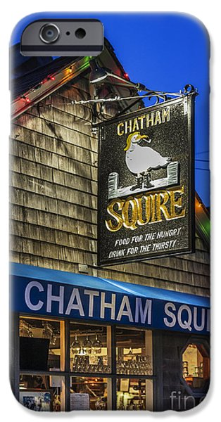 Chatham iPhone Cases - The Chatham Squire iPhone Case by John Greim